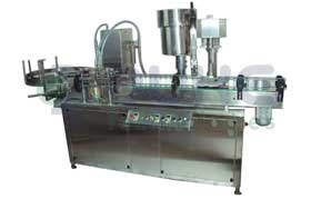 liquid bottle filing machine monoblock